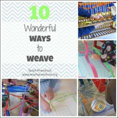 10 Wonderful ways to weave