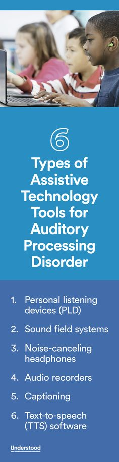 Kids with auditory processing disorder (APD) can struggle to recognize subtle differences in the sounds of words. This can create challenges, like mishearing directions in class or being easily distracted by background noise. But assistive technology (AT) can be a big help.