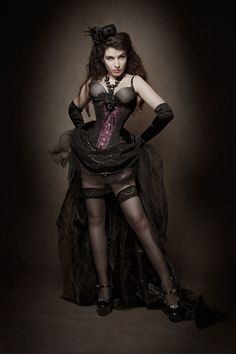 DevilInspired Steampunk Dresses: Victorian Steampunk Apparels for Women
