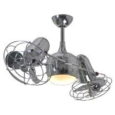 "Matthews Fan Company 39"" Dagny 6 Blade Dual Ceiling Fan with Wall Remote   AllModern"