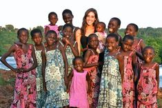 Because at age 18, she went to Uganda and started a ministry that feeds and sends hundreds of Ugandan children to school. By age 22 she has adopted 14 little girls who were left alone in this world. She heard God's call for her life and said yes. She fights everyday to make this world a better place. She is amazing. Read her book, it's life changing.. 'Kisses from Katie'        Katie Davis