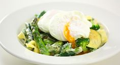 Eggs & Creamy Green Vegetable Fettuccine | Tony Ferguson Weightloss Program