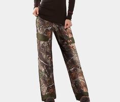 da36eb8196009 Under Armour Women's Camo Ayton Fleece Pant STORM UA-1229947-920 Sz: L