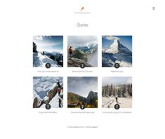 Share your experiences via website of mountain guide Create Website, Photo Galleries, Mountain, Business