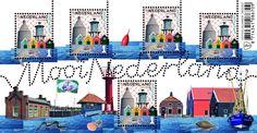 Mooi Nederland 2016: Vissersplaatsen - Zoutkamp - Postzegelvellen - Postzegelproducten