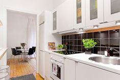 Aprovechar el espacio al máximo: la cocina en el pasillo