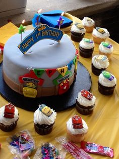 Chuggington Cake Cakes Pinterest Chuggington Cake Cake And - Chuggington birthday cake