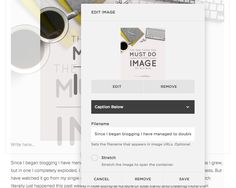 How to Edit the Image Name in Squarespace.  |  The One Thing You Must Do to EVERY Image on Your Blog  |  Think Creative
