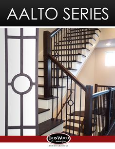 Our Aalto collection is a compliment to the modern design and aesthetic. Adorn any space with the clean lines and open detail of these modern balusters and panels. http://ironwoodusa.com/  Houston: 281-209-0000 DFW: 817-701-2006 Austin: 512-973-8373  #StairRemodel #InteriorDesign #Stairs #StairParts #Staircase  #CustomStair