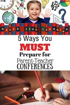 Parent-Teacher conference season is upon us. Here are 5 ways you MUST prepare for your parent teacher conference. Being prepared is key! Listening to your child and knowing what he needs educationally is key.