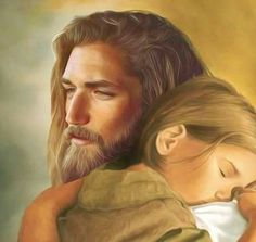 Nothing compares with the love and compassion that Jesus shows his children! God and Jesus Christ Pictures Of Jesus Christ, Jesus Painting, Jesus Art, Jesus Is Lord, Jesus Loves Me, Christian Art, Heavenly Father, Christianity, Faith