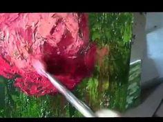 Jak malowac. Lekcja 16. Kolor Matka (Ratujemy stare obrazy) - YouTube