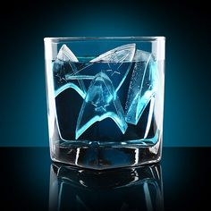 We so want to get these! Star Trek Starfleet Ice Trays. #startrek