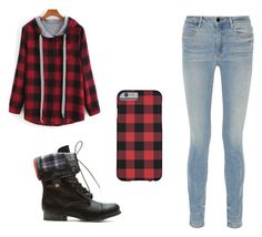 """Plaid❤️"" by ashtian22 ❤ liked on Polyvore featuring Alexander Wang, women's clothing, women, female, woman, misses and juniors"