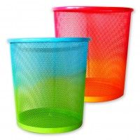 ombre trash can | a must-have for any work space or bedroom!