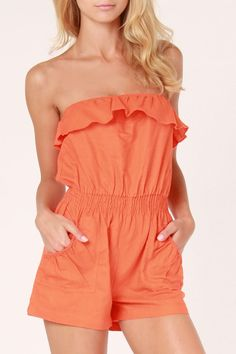 @Hourglass Boutique  has some of the cutest rompers