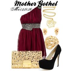 """""""Mother Gothel"""" by me123456 on Polyvore"""