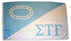 Sigma Tau Gamma Official 3'x5' Flag by Super Greeks. $39.99. The official fraternity flag is a must for every Sig Tau. Why hang a poster up in your dorm/apt/home when you can hang this awesome flag instead. We are the exclusive vendor for this flag. Measures 3 feet by 5 feet, features the official colors and two brass grommets for flying. Each flag is individually packaged for shipping protection.