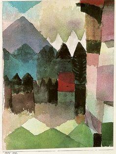 Paul Klee, 1915