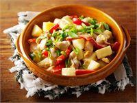 Pasta Salad, Potato Salad, Salsa, Potatoes, Ethnic Recipes, Food, Red Peppers, Crab Pasta Salad, Salsa Music