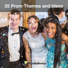 25 Prom Themes and Ideas. Plan the perfect spring formal dance at your school, whether you go glam and formal or casual and classic.