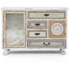 Awesome kommode landhausstil sideboard antik shabby chic kommode