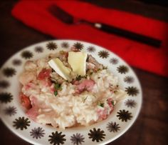 Brie and bacon risotto, at just 26p per portion. Check it out: http://bit.ly/1BVOut0 #belowtheline