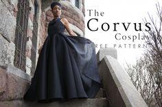 The Corvus Cosplay - Free Ramonda Sewing Pattern - Mood Sewciety