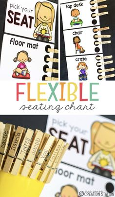 Flexible seating in the classroom is just one of the many management systems going on in classrooms today. It's hard for children to sit still for very long, so changing up the seating is a great way to help. I have create a FREE printable flexible seating chart to help with this in your classroom. #classroom #seating  #flexible #management #kindergarten #preschool #free #freeprintable #mrsjonescreationstation