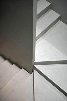 Bespoke stone stairs from Artisans of Devizes. www.artisansofdevizes.com