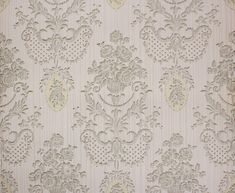 1940's Vintage Wallpaper Victorian Roses and by RosiesWallpaper