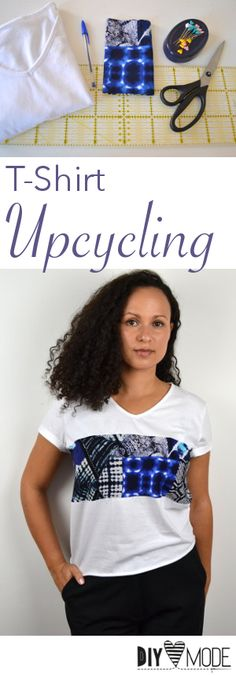 T-Shirt Upcycling Idee / Video-Anleitung