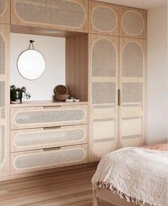 Bedroom Wardrobe, Master Bedroom, Custom Cabinetry, New Room, Interior Design Inspiration, Home And Living, Furniture Design, Bedroom Decor, House Design