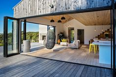 About fifty kilometers outside of Auckland, New Zealand lies a small but modern farmhouse. Read more about it here.
