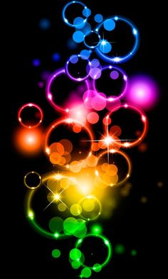 Wallpaper Viewer for Beautiful Colorful Rings --- smart phone wallpaper / background