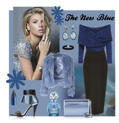 The New Blue by classicstyle4u on Polyvore featuring Glamorous, Kim Kwang, Jimmy Choo, Alexis Bittar, ASOS, Urban Decay and Marc Jacobs