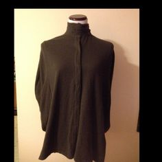 Angora Rabbit hair SOFT wrap shawl shrug poncho Has hidden bottom up front with arm holes on the side and is in a gray color in great condition in a size large. Smoke free home! B Chyll  Sweaters Shrugs & Ponchos