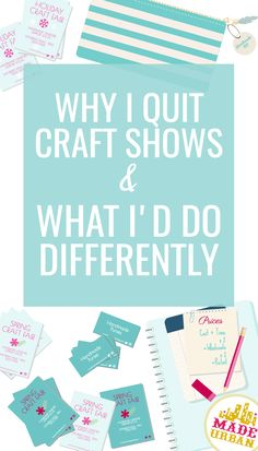 Why I Quit Craft Shows & What I'd do Differently - Made Urban Craft shows can wear a small handmade business owner out if not planned properly. These are the lessons I wish I knew when I started selling at craft shows. Craft Show Booths, Craft Fair Displays, Craft Show Ideas, Booth Displays, Display Ideas, Etsy Business, Craft Business, Business Tips, Business Planning