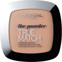 L'Oréal Paris True Match Powder Foundation (Various Shades) (265 UAH) ❤ liked on Polyvore featuring beauty products, makeup, face makeup, foundation, oil free foundation, l'oréal paris, l oreal paris foundation, oil free powder foundation and powder foundation