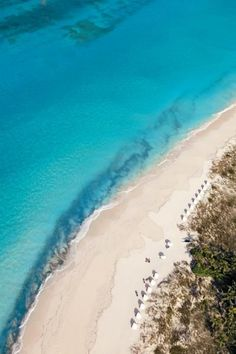 Turks and Caicos Grace Bay Beach. Don't forget when traveling that electronic pickpockets are everywhere. Always stay protected with an Rfid Blocking travel wallet. https://igogeer.com for more information. #igogeer