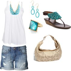 Summer Simple, created by jliz516 on Polyvore
