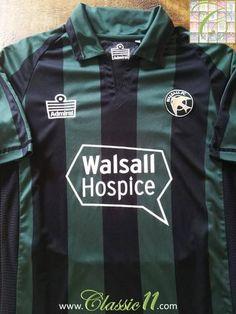 2009 10 Walsall Away Football Shirt (S) 42d167753