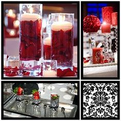 wine & chocolate party #red, white, black