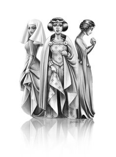 Medieval Girls (3) by zoha
