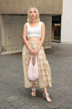 Nyfw Street Style, Street Fashion, Cynthia Erivo, Kate Hudson, Zendaya, Nice Dresses, Films, Vogue, Stars