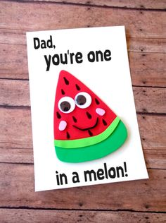 Here are cute Father's Day Crafts that are perfect for showing dad how loved & appreciated he is! These crafts are a great DIY Father's Day gift ideas! Free Fathers Day Cards, Kids Fathers Day Crafts, Fathers Day Art, Happy Fathers Day, Gifts For Kids, Fathers Day Ideas, Fathers Day Presents, Funny Fathers Day Card, Diy Father's Day Cards