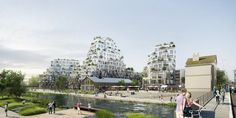 MVRDV Wins Competition in France with Residential Development Inspired by Rock Formations