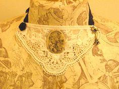 Vintage style bib via http://www.facebook.com/CarolynsWardrobe