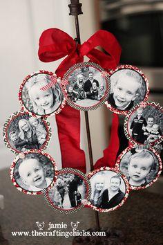 jar lid wreath