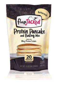 Details : Protein Pancake Mix, ButtermilkNo Additives, No Preservatives, No Artificial Anything! Made with Whey Protein Isolate. 17g Protein. 6g Fiber. Just add water. we believe we are what we eat! W